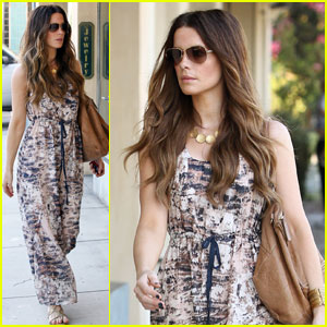 Kate Beckinsale: Maxi Dress Fashionista
