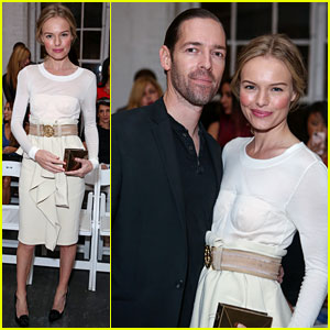Kate Bosworth & Michael Polish: Altuzarra Fashion Show!