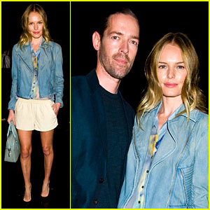 Kate Bosworth & Michael Polish: Theory Twosome!