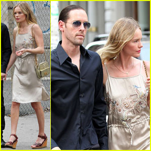 Kate Bosworth: NYC Stroll with Michael Polish!