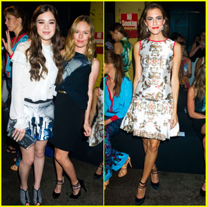 Hailee Steinfeld & Kate Bosworth: Prabal Gurung Fashion Show