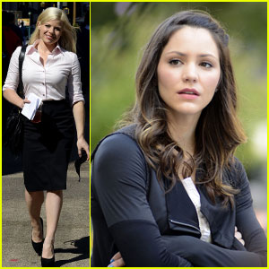 Katharine McPhee & Megan Hilty: 'Smash' Ladies