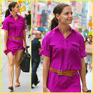 Katie Holmes: Fashion Line is Growing And Expanding!