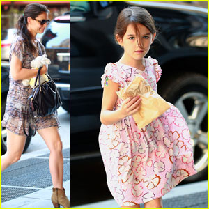 Katie Holmes: NYC Errands with Suri