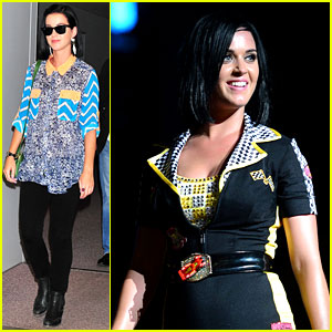 Katy Perry: Singapore Concert & Tokyo Arrival!