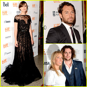 Keira Knightley & Jude Law: 'Anna Karenina' Premiere at TIFF!