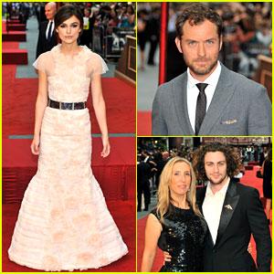 Keira Knightley & Jude Law: 'Anna Karenina' Premiere!