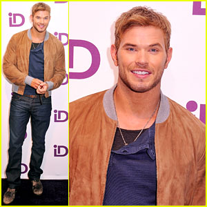 Kellan Lutz: iD Gum Launch Event!