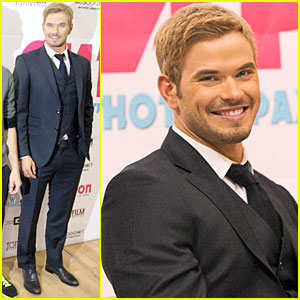 Kellan Lutz: 'Syrup' Press Conference in Moscow!