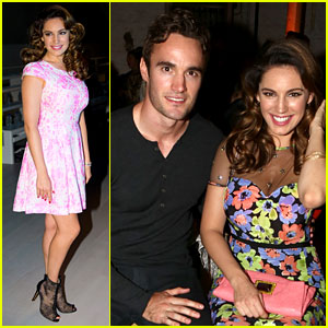 Kelly Brook: London Fashion Week with Thom Evans!
