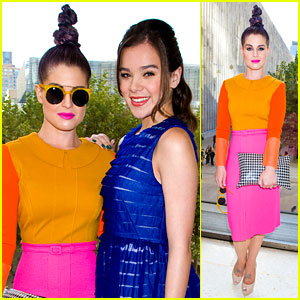 Kelly Osbourne & Hailee Steinfeld: Chris Benz Fashion Show!