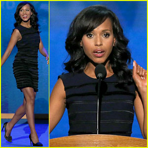 Watch Kerry Washington's Speech at Democratic National Convention!