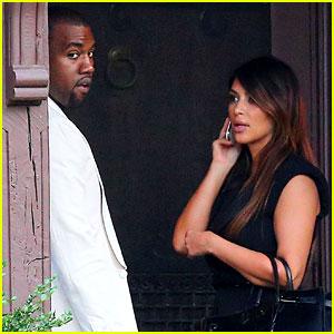 Kim Kardashian & Kanye West: Labor Day in Westchester!