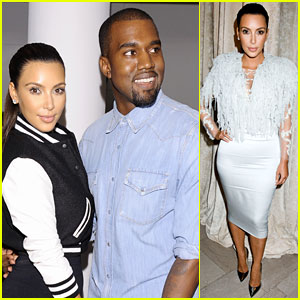 Kim Kardashian & Kanye West: Louise Goldin Fashion Show!