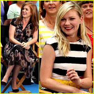 Kirsten Dunst & Isla Fisher: 'Good Morning America' Gals!
