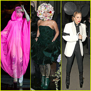 Lady Gaga: Philip Treacy Fashion Show!