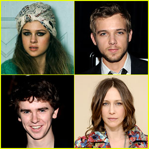 Highmore, Max Thieriot, Nicola Peltz, Vera Farmiga : Just Jared