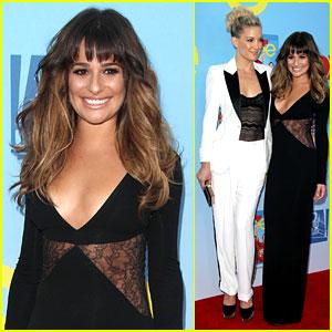 Lea Michele & Kate Hudson: 'Glee' Season 4 Premiere!