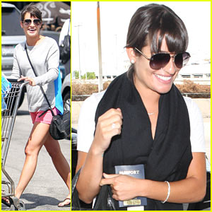 Lea Michele: 'What's Up New York!'