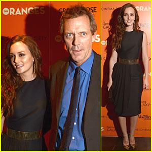 Leighton Meester: 'Oranges' Screening In New York!