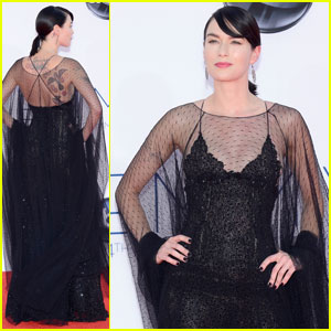 Lena Headey - Emmys 2012 Red Carpet