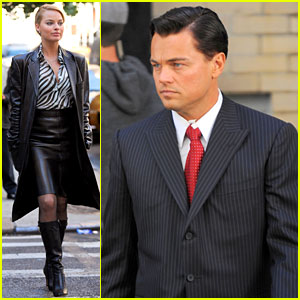 Leonardo DiCaprio: 'Wolf of Wall Street' with Margot Robbie!