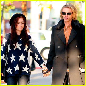 Lily Collins & Jamie Campbell Bower Hold Hands in Toronto!