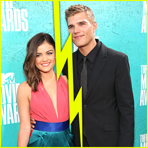 Lucy Hale & Chris Zylka Split