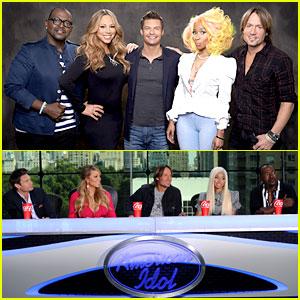 Mariah Carey & Nicki Minaj: 'American Idol' Promo Shot!