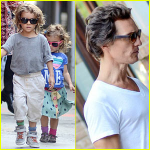 Matthew McConaughey: Manhattan Family Man