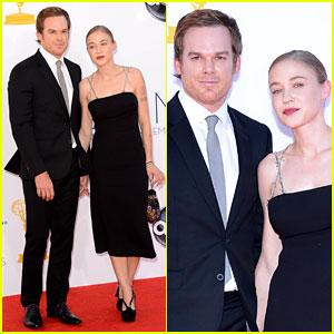 Michael C. Hall: Emmys with Girlfriend Morgan Macgregor!