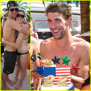 Michael Phelps: Shirtless Retirement Party!