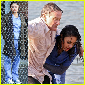 Mila Kunis Rescues Robin Williams in 'The Angriest Man'!