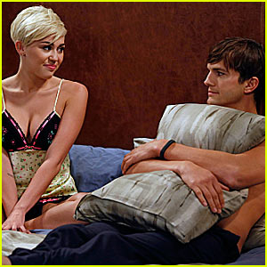 Miley Cyrus: 'Two and a Half Men' Stills!