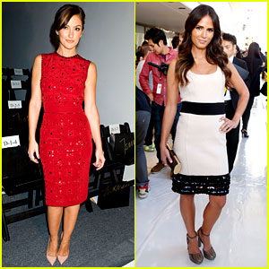 Minka Kelly & Jordana Brewster: Fashion Week Shows!