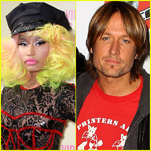 Nicki Minaj & Keith Urban: 'American Idol' Judges!