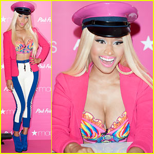 Nicki Minaj: 'Pink Friday' Fragrance Launch!