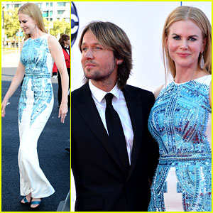 Nicole Kidman & Keith Urban - Emmys 2012 Red Carpet