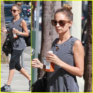 Nicole Richie: Gym Junkie