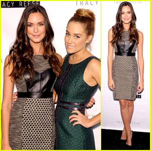 Odette Annable & Lauren Conrad: Fashion Week Fierce!