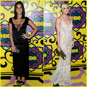 Olivia Munn & Ashlee Simpson - HBO's Emmys After Party