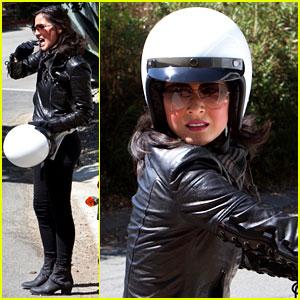 Olivia Munn: Biker Babe!