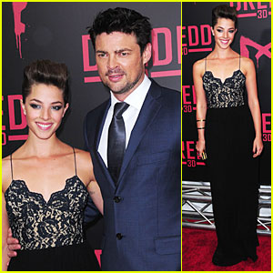 Olivia Thirlby & Karl Urban: 'Dredd 3D' New York Screening!