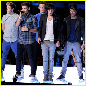 One Direction's MTV VMAs Performance 2012 - Watch Now!