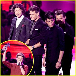MTV VMAs Winners List 2012 - One Direction Wins Big!