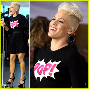 Pink: 'Today Show' Performance &#038; Tour Announcement!