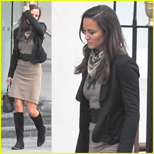 Pippa Middleton: Hat Shopping in London!