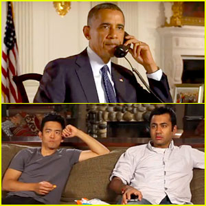 President Obama Calls on Harold & Kumar for DNC Promo!