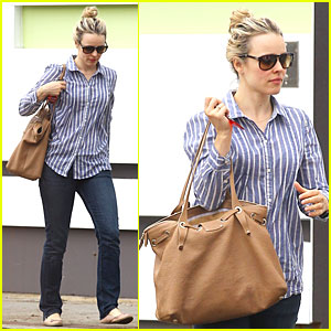 Rachel McAdams: Fender Bender in Hollywood!