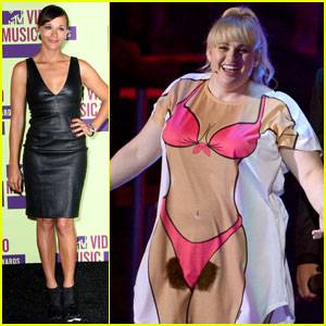 Rebel Wilson: Bikini Shirt at MTV VMAs